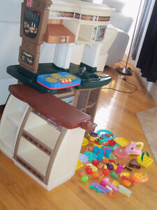 Cuisinière, cuisinette, step 2 et accessoires jouet jeux