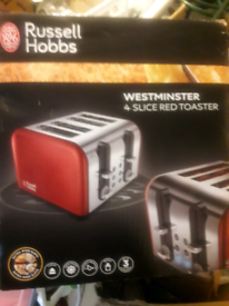 Russell Hobbs 4 Slice Toaster - Brand New & Boxed