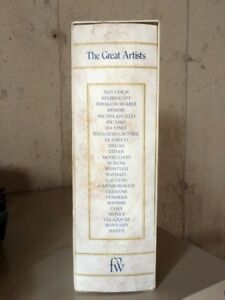 The Great Artists, Funk & Wagnalls, 1978, 25 Volume Boxed Set