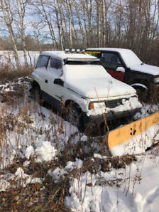 Chevy Tracker With Plow
