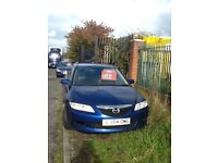 Mazda 1.8 petrol in ex condotion