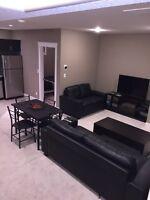 2 bedroom fully furnished basement suite