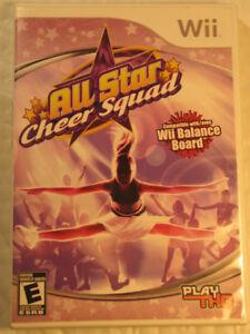 Wii Jeu All Star Cheer Squad  (Nintendo Wii 2008)