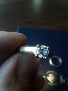 Diamond engagement ring for dirtbike!
