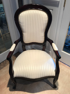 Mahogany Upholstered Chair