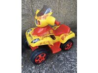 Kids electric quad bike suit age 2-4 years