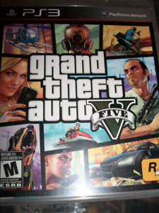 GTA V for ps3 in great condition