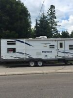 2008 30 foot wildwood travel trailer