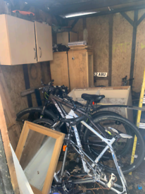 Clearing out Shed