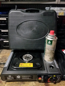 Butane stove with case