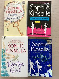 Sophie Kinsella Novels Set of 4