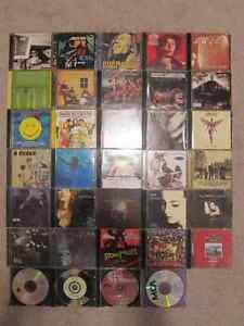 CDs $1.50 each / $6 for Four/ $34 for All