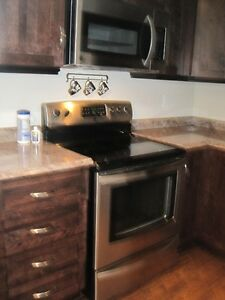 Newly renovated apartment center city with parking!