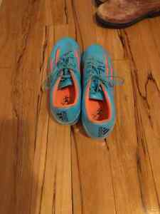 Women's addidas soccer cleats. Size 9