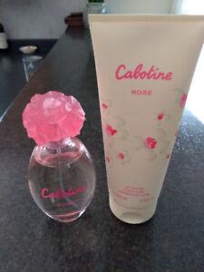 Eau de toilette et lait parfumé Cabotine rose