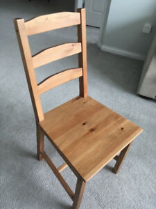 Four Wooden Dining/Kitchen Chairs Great Condition