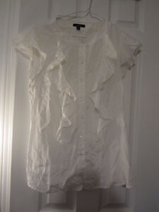 Jacob size small button blouse/ top with ruffles