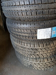 245 75 17 LT tires 2 x Bnew / 2 used -- $300 all 4