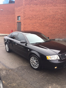 2002 Audi A6 2.7T Manual 6-Speed