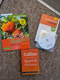 Beginners Spanish books