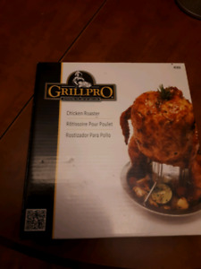 Grill pro chicken roaster & smoker