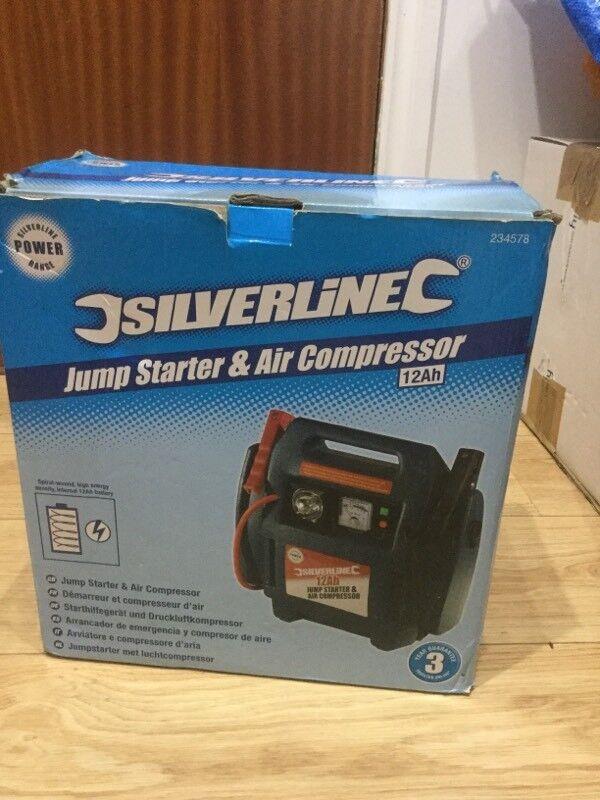 Jump Start & Air Compressor