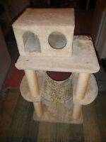 CAT SCRATCHING POST/HOME/ CHAT GRIFFOIR