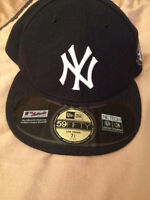 Selling Brand New Yankees Hat With Jeter Patch Size 7 3/4