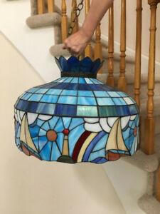 Vintage Light Fixture - Tiffany light Fixture - Lighting