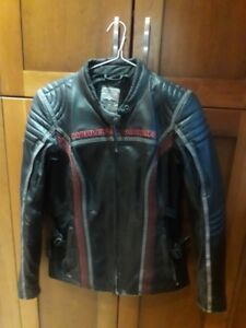 Two Harley Davidson Jackets and chaps - Ladies large -