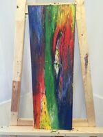 Oil Canvass Abstract