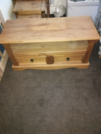 TV cabinet solid hardwood