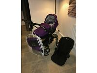 Silvercross Pioneer Travel System in Damson - Offers & Viewings Welcome