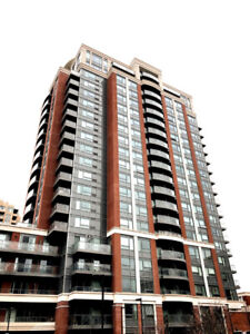 Downtown Markham 1 Bedroom with Parking and Locker for Rent