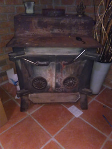 Large shop wood stove.