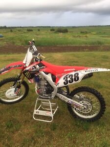2013 Honda crf 250r low hours