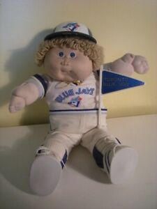 4 SALE: RARE  1985 TORONTO BLUE JAYS CABBAGE PATCH KID DOLL