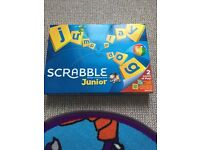 Scrabble junior board game