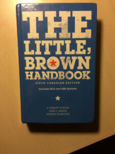 The Little, Brown handbook Sixth Edition