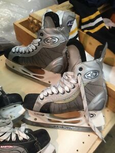 Hockey stuff-skates, pants, gloves, pads-starting at $20