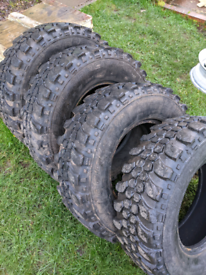 INSA Turbo Tyres 235/85/16 Defender Discovery 4x4 Tyres