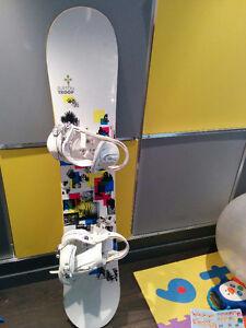 Planche à neige et équipements