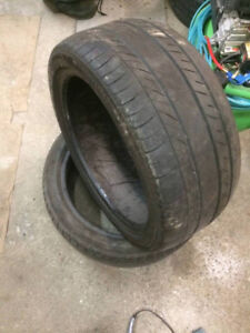 2 Pneu ete 245/40/18 summer tire