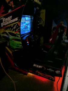 Fast and the Furious Arcade Machine Fully Working