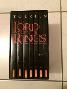 J.R.R. Tolkien The Lord of The Rings Books