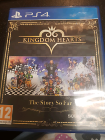 Kingdom of hearts full trilogy PS4