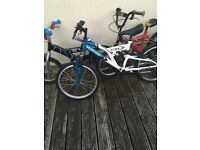 9 mixed lot of bikes