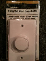 Stereo Wall Mount Volume Control Radio Shack 40-8978