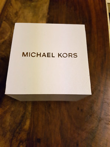 Michael Kors Oversized Gold Tone Stainless Steel Watch