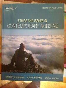 Ethics and issues in contemporary nursing. Textbook for sale ! Peterborough Peterborough Area image 1